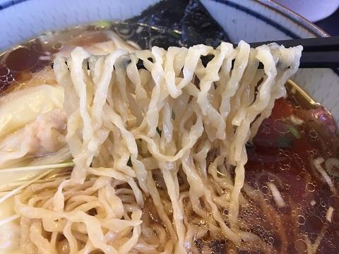 ワンタン麺アップ