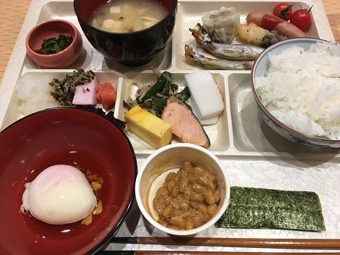 華の湯朝食