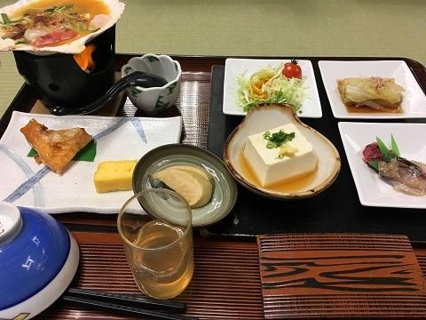 秋田屋朝食