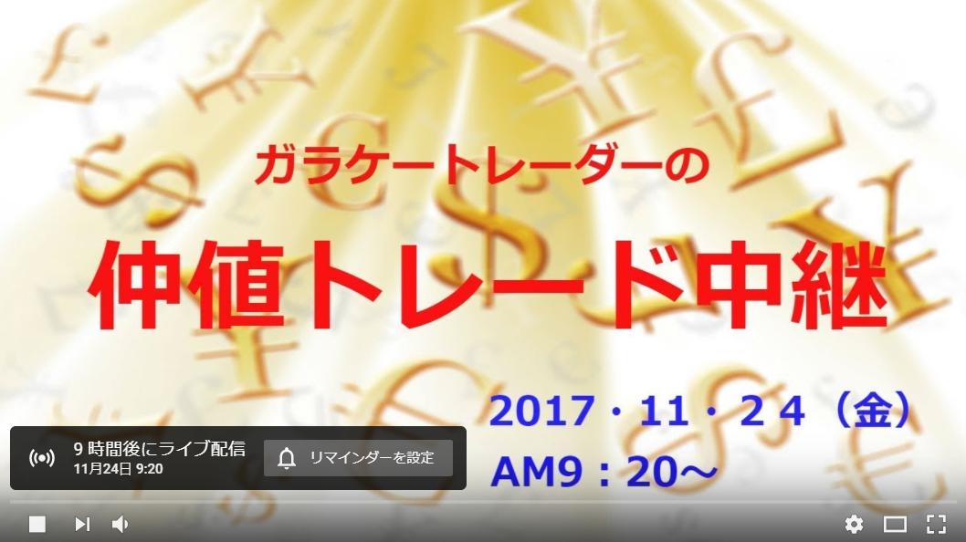 WTCロビンスカップ×マネックスFX・仲値トレード生中継!
