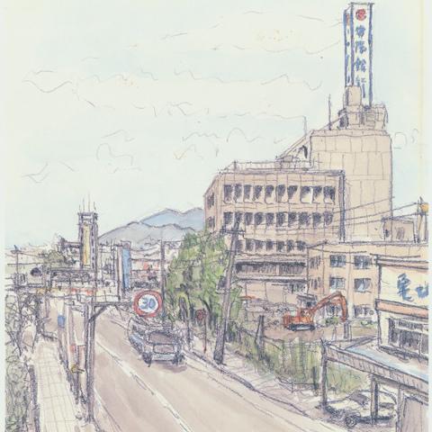 [常陽銀行 朝日新聞掲載第一号]