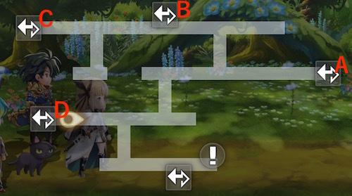 マップ 4話 不思議の森