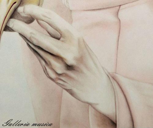 手を描く4