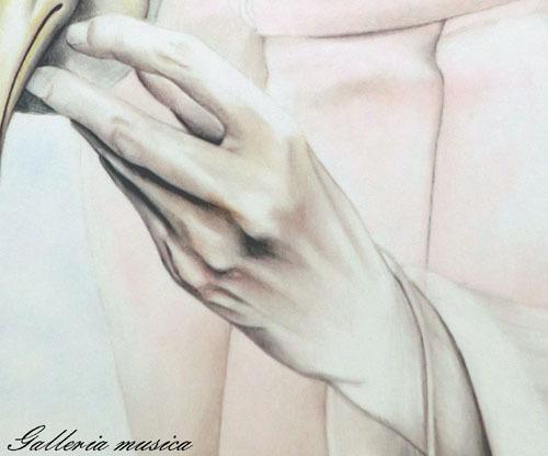 手を描く6