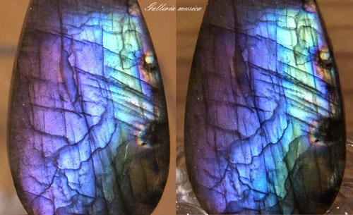 紫陽花色のラブラドライト4