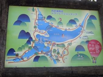 r丹沢湖周遊道の図171009