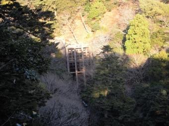 不老山登山道しるべ171009
