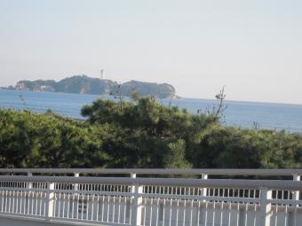 江の島歩道橋から171026