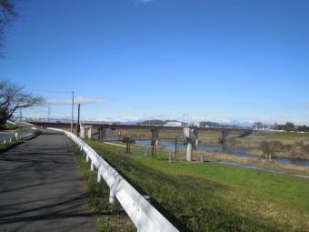やっと渡良瀬川細工輪ロードに171111