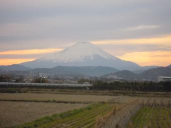 帰りの富士山171125