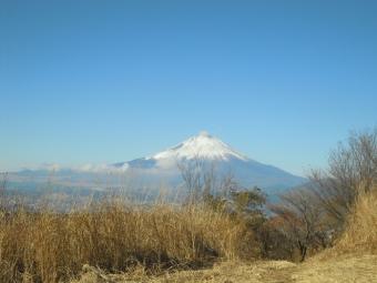 矢倉岳山頂からの富士山171203