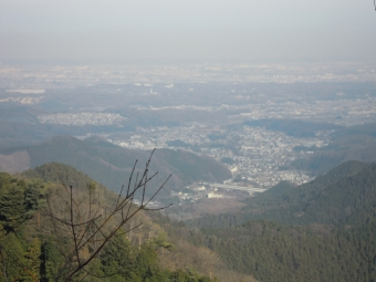 景信山から171224