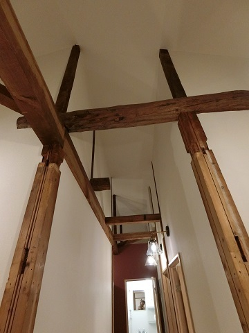 目白台シェアハウス2階廊下天井2