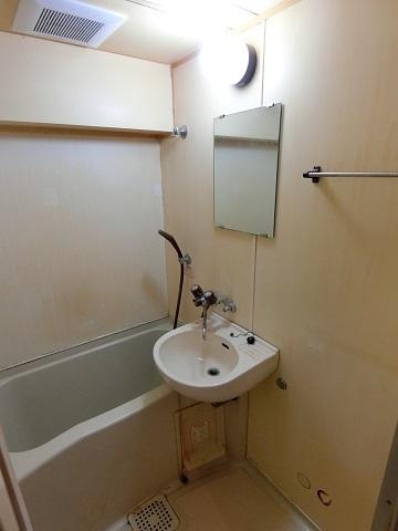 401浴室清掃後
