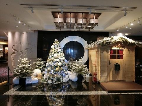 クリスマス飾りニューオータニ