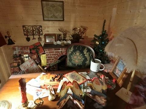 クリスマス飾りニューオータニ家の中