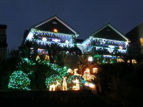 クリスマスクーさん邸