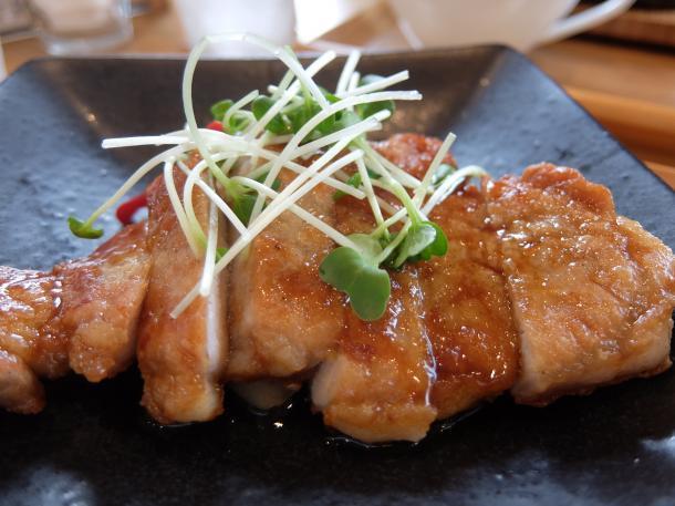 豚ロースの生姜ソース