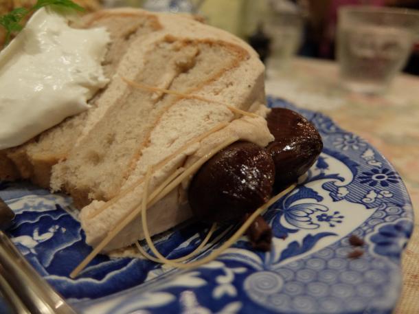 マロンのシフォンケーキ