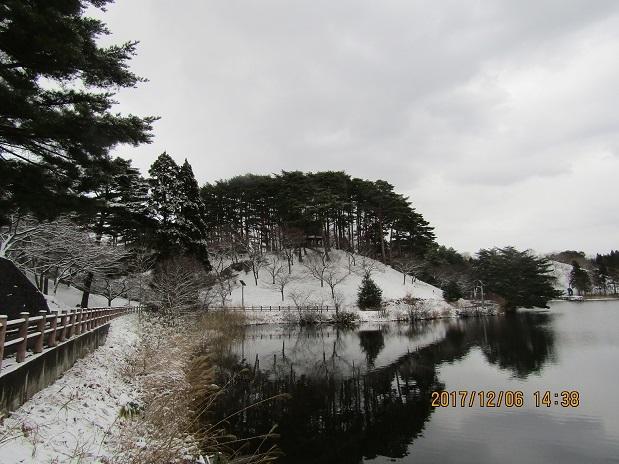 公園の冬景色1