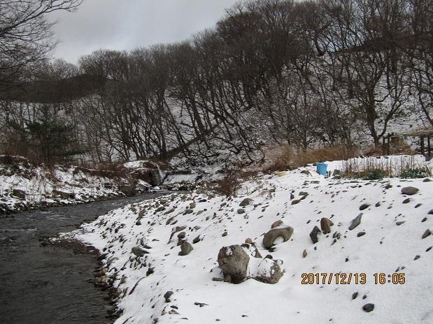 泊川の冬景色2