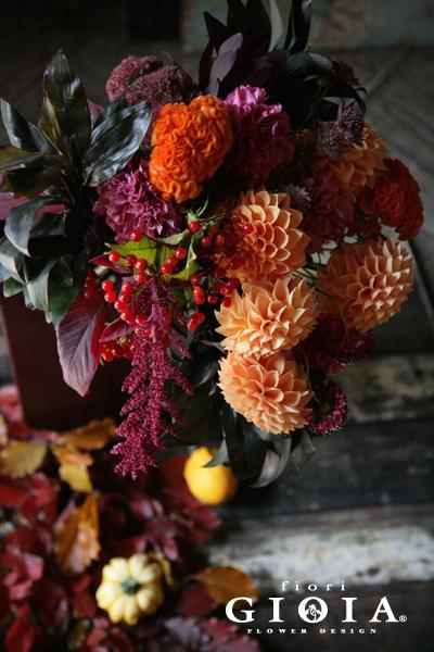 ゲストテーブル装花花材イメージのコピー