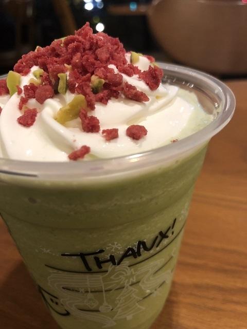 スターバックスコーヒージャパン キャンディーピスタチオフラペチーノ2