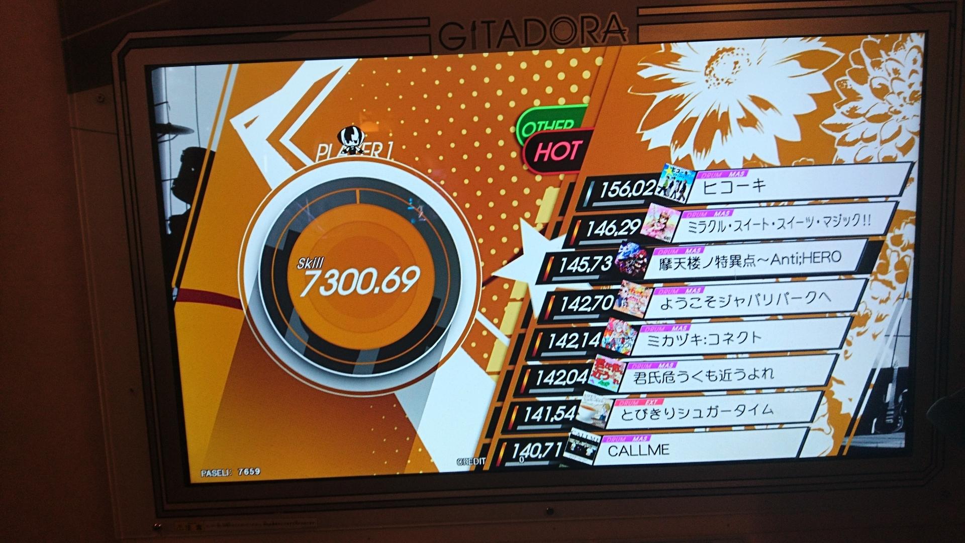 ドラム7300