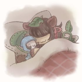 おやすみ画像