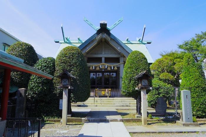 「簸川神社」