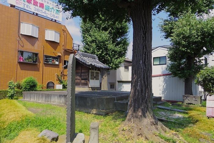 「浅間神社塚遺跡」