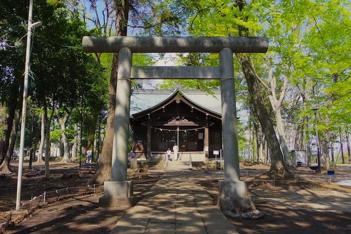 「富士森の富士塚」
