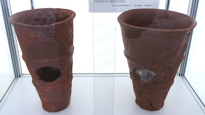 「野毛4号墳」の円筒埴輪