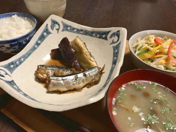Sep25_さんまの生姜煮
