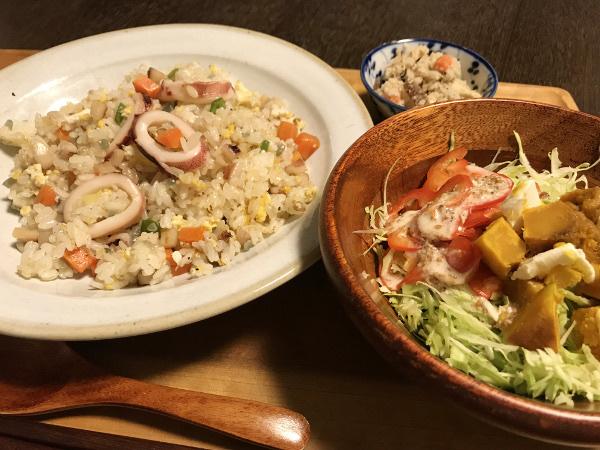 Sep27_イカの炒飯