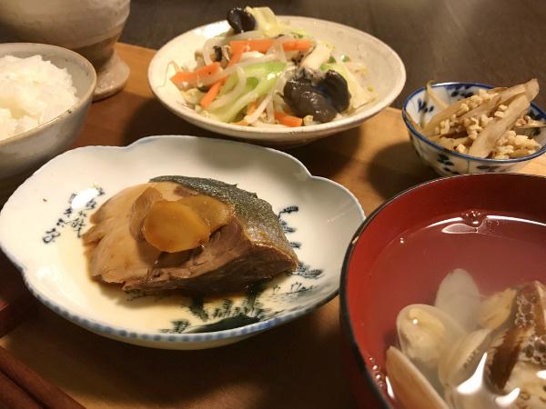 Oct23_ブリの生姜煮