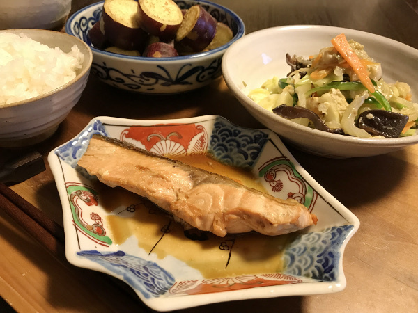 Oct30_鮭のタレ焼き