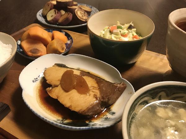 Nov15_ブリの生姜煮