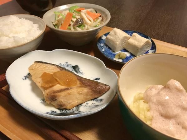 Dec11_ブリの生姜煮