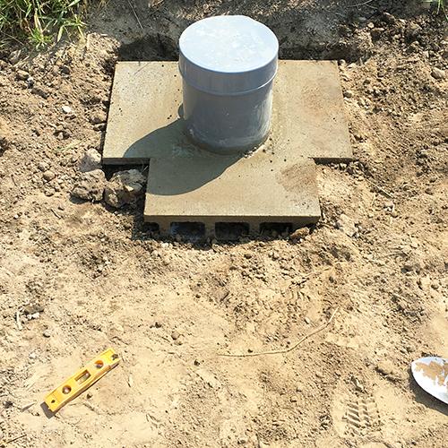 DIYで打ち抜き井戸を掘る!⑥ ~完成!可愛い井戸~②