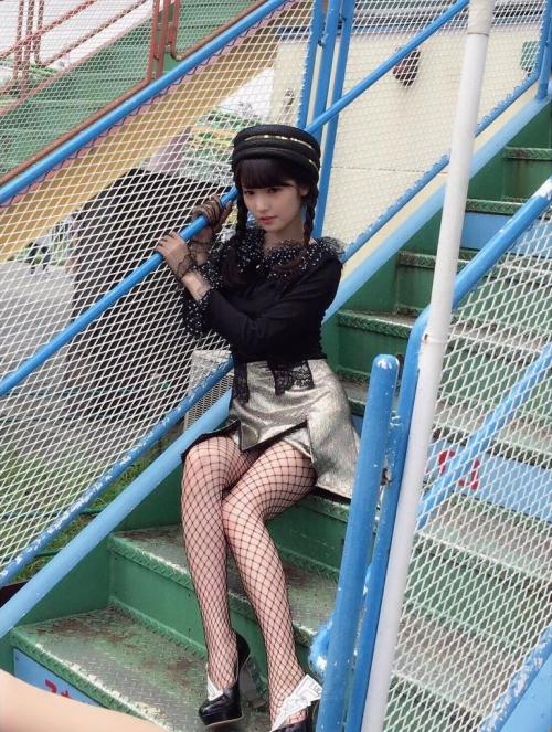 道重さゆみちゃん(28)かなアミに三つアミにアミタイツのドスケベ衣装に挑戦!