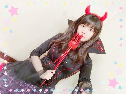 声優・竹達彩奈さん(28)、悪魔のコスプレをしてしまうwwwwwwwwwwwwwwwww