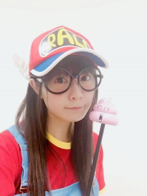 【画像】声優・竹達彩奈さん(28)のアラレちゃんのコスプレwwwwwwwwwwwwww