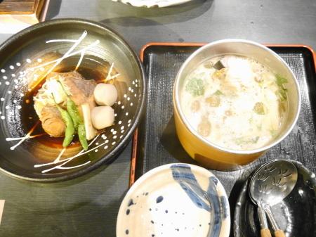 煮物と味噌汁