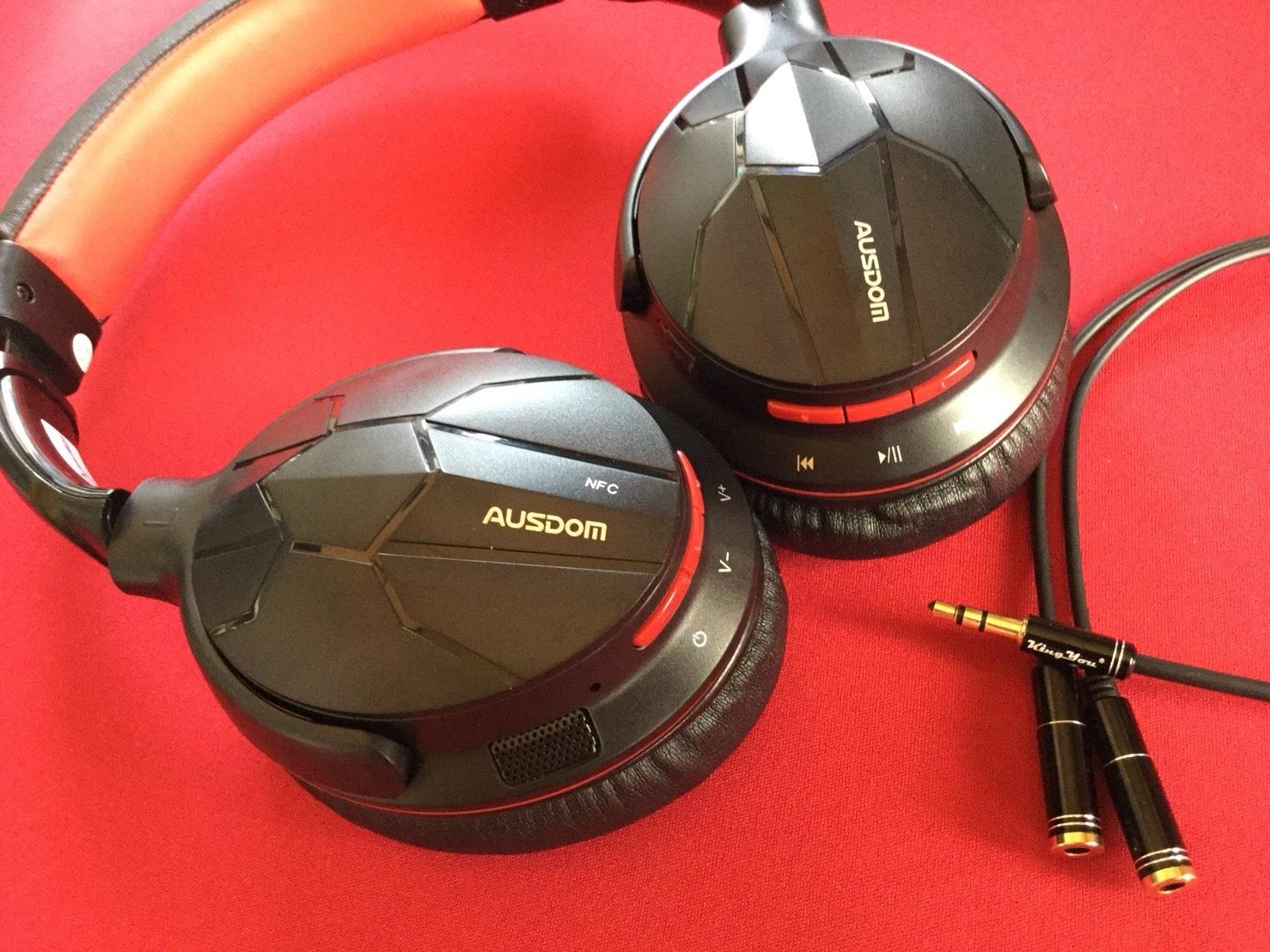 Bluetoothのヘッドホン01