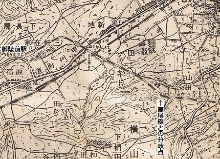 御陵線跡01