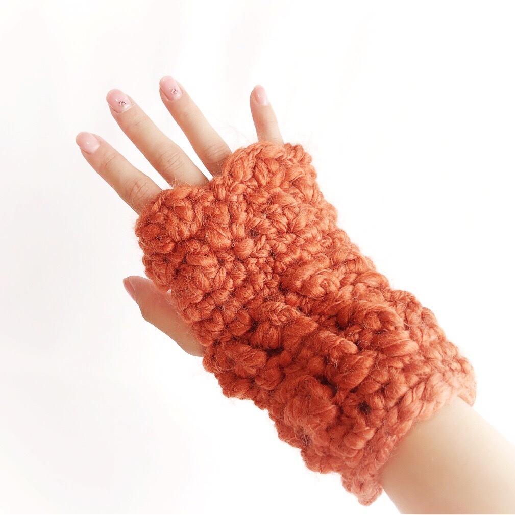 手編み雑貨 HanahanD ハンドウォーマー