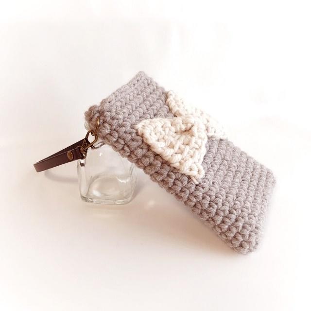 手編み雑貨 HanahanD スマホ、iPhoneケース