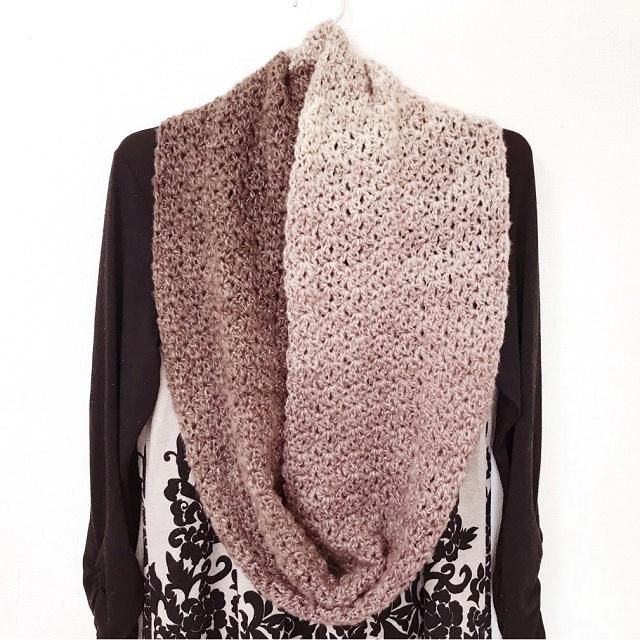 手編み雑貨 HanahanD スヌード・ショール・ネックウォーマー 冬ファッション小物