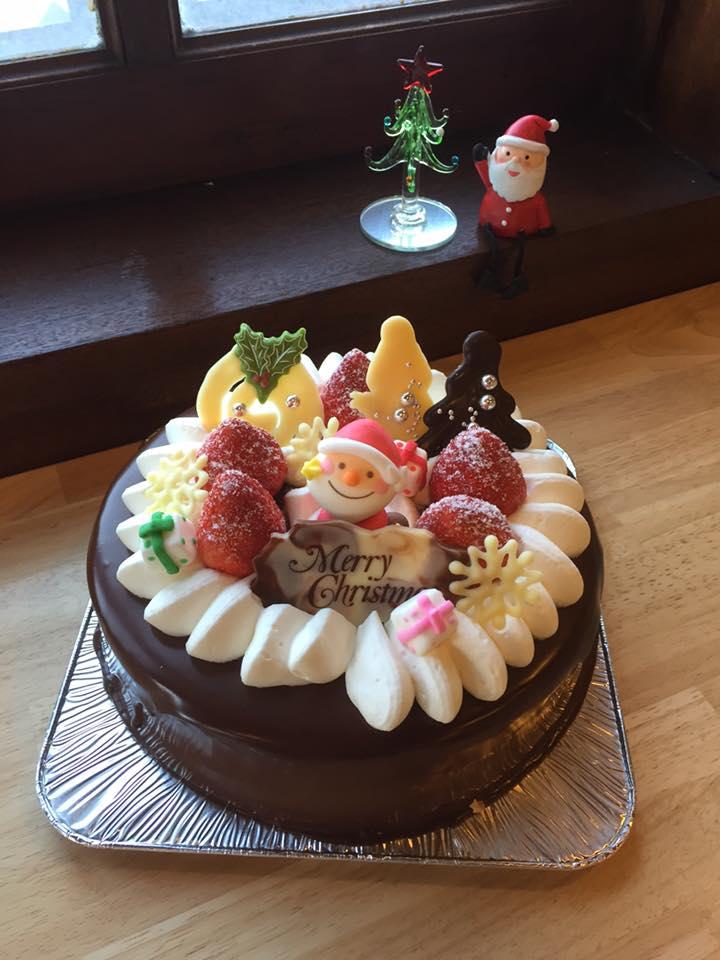 クリスマスケーキチョコ